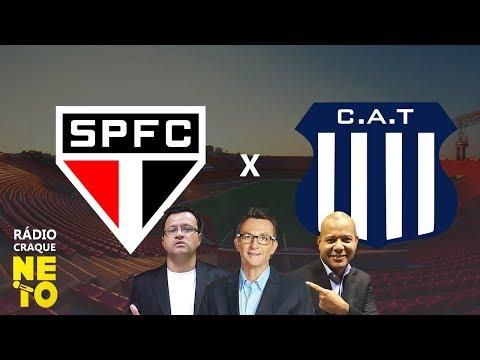 São Paulo x Talleres (ARG) - (AO VIVO) - Rádio Craque Neto