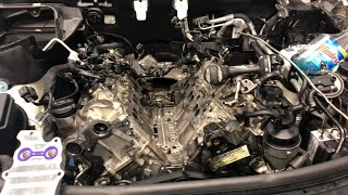 Mercedes Benz ML350 Oil Leak Repair - Mercedes Oil change