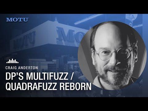 Craig Anderton on DP's MultiFuzz: his Quadrafuzz from the '80's reborn