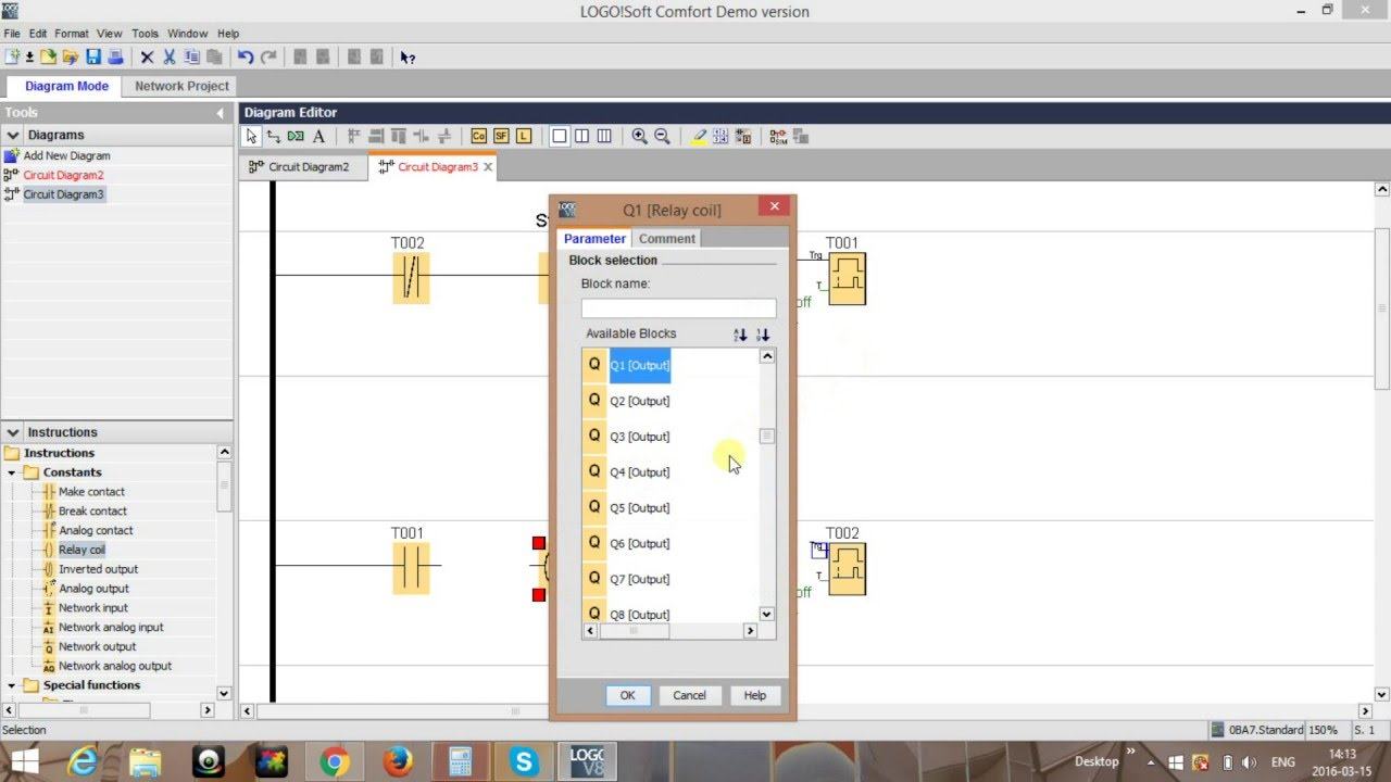 Flashing Light With Two Timers Siemens Logo Tutorial