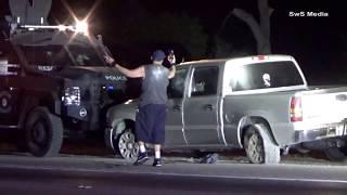Police Pursuit - I-15 Lake Elsinore - 8/28/2018
