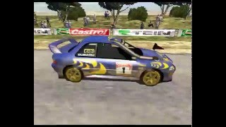 Sega Rally 2 - Supermodel 0.3a WIP rev 303 - 1cc - Subaru