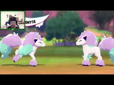 SPECIAL K REACTS: Meet Galarian Ponyta In Pokémon Shield! 🛡️