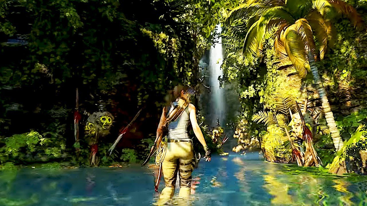 Shadow Of The Tomb Raider Jungle Gameplay New Demo Walkthrough 2018 Ps4 Xbox One Pc Youtube