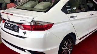 Honda City Anniversary Edition 2018 White Orchid Pearl Colour