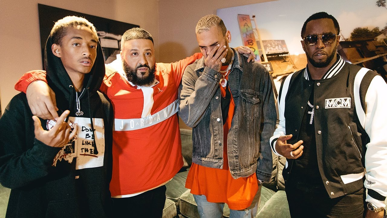 Chris Brown, Jaden Smith, Diddy at DJ Khaled x Demi Lovato Tour LA