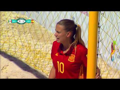 FIFA  WOMEN beach soccer FINAL  2017 MEXICO SPAIN