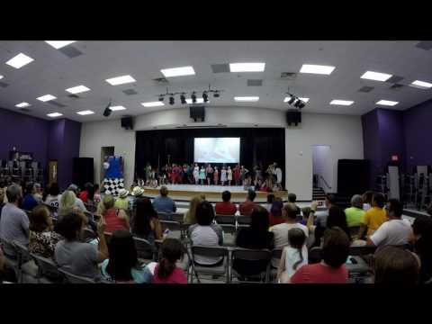 2017 05  Oliver Middle School Drama Class