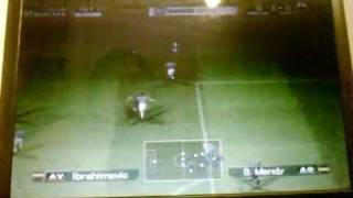 20090927 Pro Evolution Soccer 5 Finale Championnat WEFA Ile De France Juventus 45 90