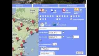 Видеоинструкция. Бронь отеля на испанском сайте.