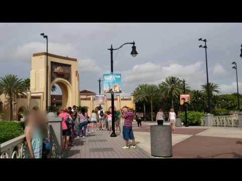 Universal Studios  Entrance and Globe, Orlando Florida