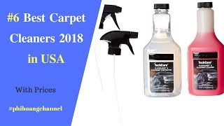 Top 6 Best Carpet Cleaners with Free Shipping in USA.