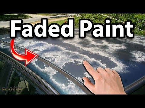 Fixing Faded Car Paint