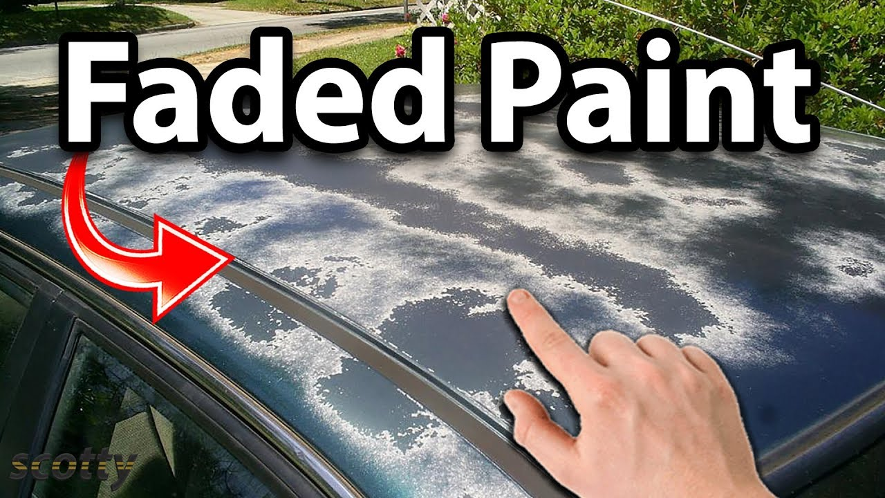 Faded Paint Car Fix
