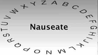 SAT Vocabulary Words and Definitions — Nauseate