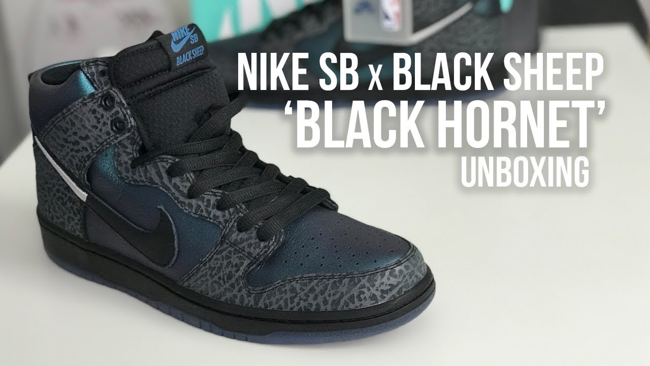 BLACK SHEEP X DUNK HIGH SB 'BLACK HORNET'