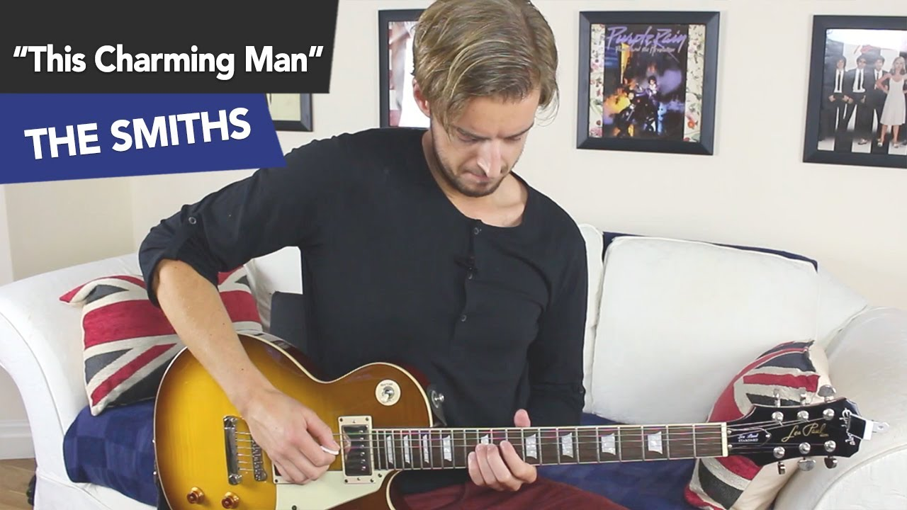How To Play This Charming Man Like Johnny Marr Guitar Tutorial