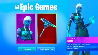 "How To Unlock The *NEW* ""EMBER"" Style In Fortnite..."