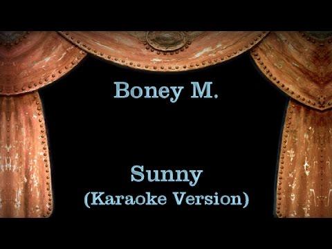 Boney M. -  Sunny - Lyrics (Karaoke Version)