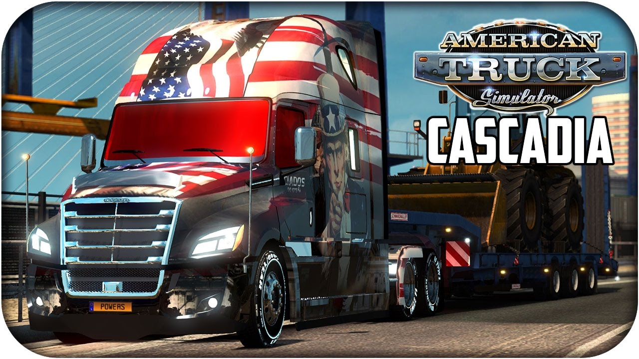 freightliner cascadia 2018 american truck simulator. Black Bedroom Furniture Sets. Home Design Ideas