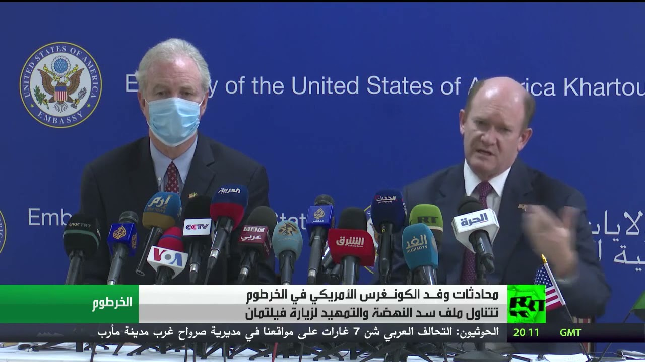 محادثات وفد الكونغرس الأمريكي في الخرطوم  - نشر قبل 5 ساعة