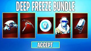 "How to Unlock NEW ""DEEP FREEZE BUNDLE"" in Fortnite! (DEEP FREEZE BUNDLE)"