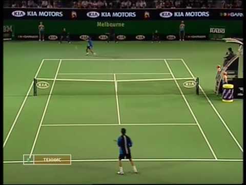 Marat Safin vs Novak Djokovic (6-0,6-2,6-1) Australian Open 2005 R1