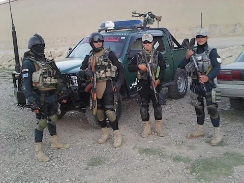 Afghanistan  National Police  2017