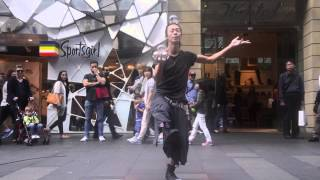 World's Best Glass Ball Street Perforemer