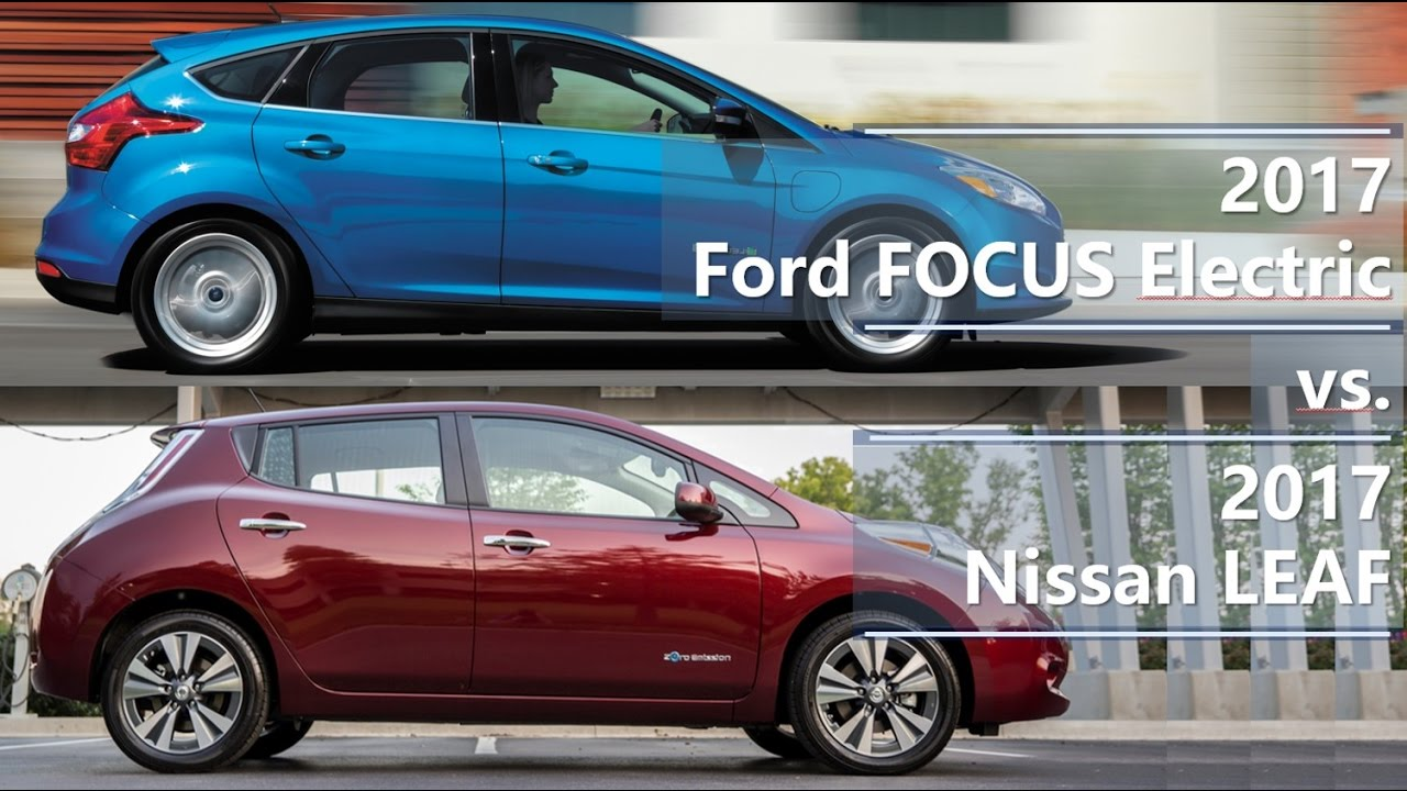 2017 ford focus electric vs 2017 nissan leaf technical. Black Bedroom Furniture Sets. Home Design Ideas