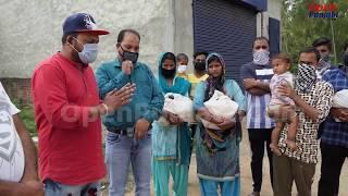 Alawalpur ਚ ਪ੍ਰਵਾਸੀ ਲੋਕਾਂ ਨੂੰ ਵੰਡਿਆ ਖਾਨ ਪੀਣ ਦਾ ਸਮਾਨ || Open Punjabi Live