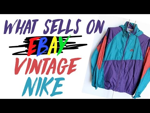 What Sells On EBay Vintage Nike & Jordan From The 80s & 90s