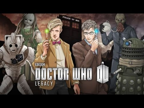 Lets Play Doctor Who Legacy Part 1 - (by Tiny Rebel Games LLC) iOS/Andriod Trailer HD Gameplay