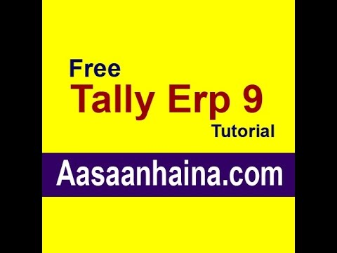 HOW TO LEARN TALLY STEP BY STEP COMPLETE COURSE ... - …