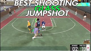 BEST GLASS CLEANER JUMPSHOT😱 *RONNIE2K APPROVED*😱 NBA2K19
