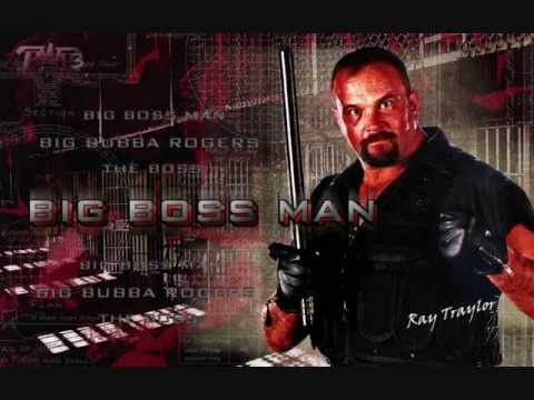 WWF Big Boss Man theme song Serin' Hard Time+ CD Quality