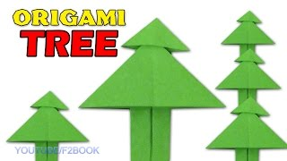 Paper Tree : Origami Easy Paper Folding Instructions Step By Step Origami