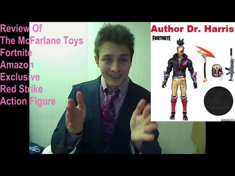 Review Of The McFarlane Toys Fortnite  Red Strike Amazon Exclusive Action Figure