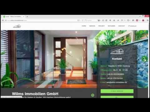 Immobilien - HTML Real Estate Template Webdesign (Responsive  Retina Ready Bootstrap)