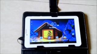 I Kall Ik1 (1+4Gb) Dual Sim 3G Calling Tablet White (White, 4 Gb, 3G)