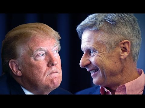 Even Donald Trump Wants Gary Johnson in the Debates