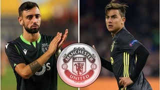 Man Utd rule themselves out of Bruno Fernandes transfer after pulling Paulo Dybala plug- transfer...