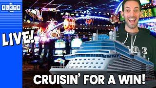 🔴 LIVE 🛳 Cruisin' for a WIN 💰 @ San Manuel Casino ✪ BCSlots