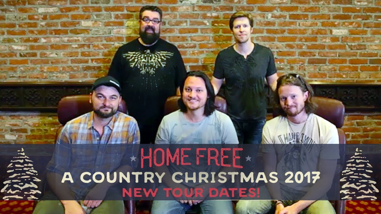 a country christmas 2017 pre sale happening now home free - Home Free Christmas
