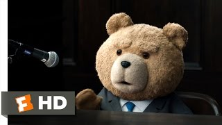 Ted 2 (7/10) Movie CLIP - Questioning Ted (2015) HD