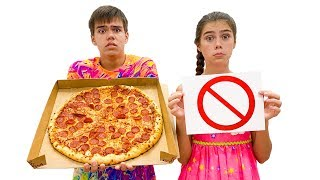 Nastya Artem and Mia - Rules of conduct for children. Правила поведения для детей.
