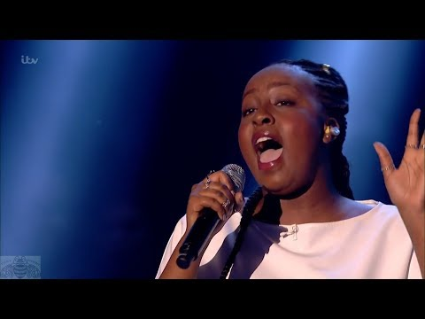 Britain's Got Talent 2017 Live Semi-Finals Singer Sarah Ikumu Full S11E12