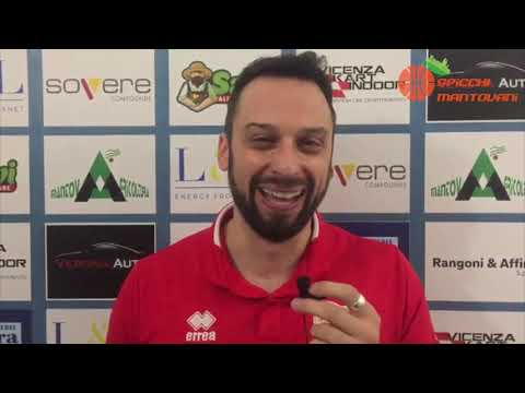 Interviste Post Partita Mantovagricoltura - Albino BG 63-74
