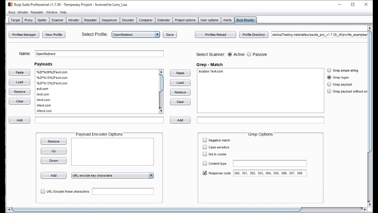 BurpBounty – An Extension that will Improve Your Burp Suite Scan Results
