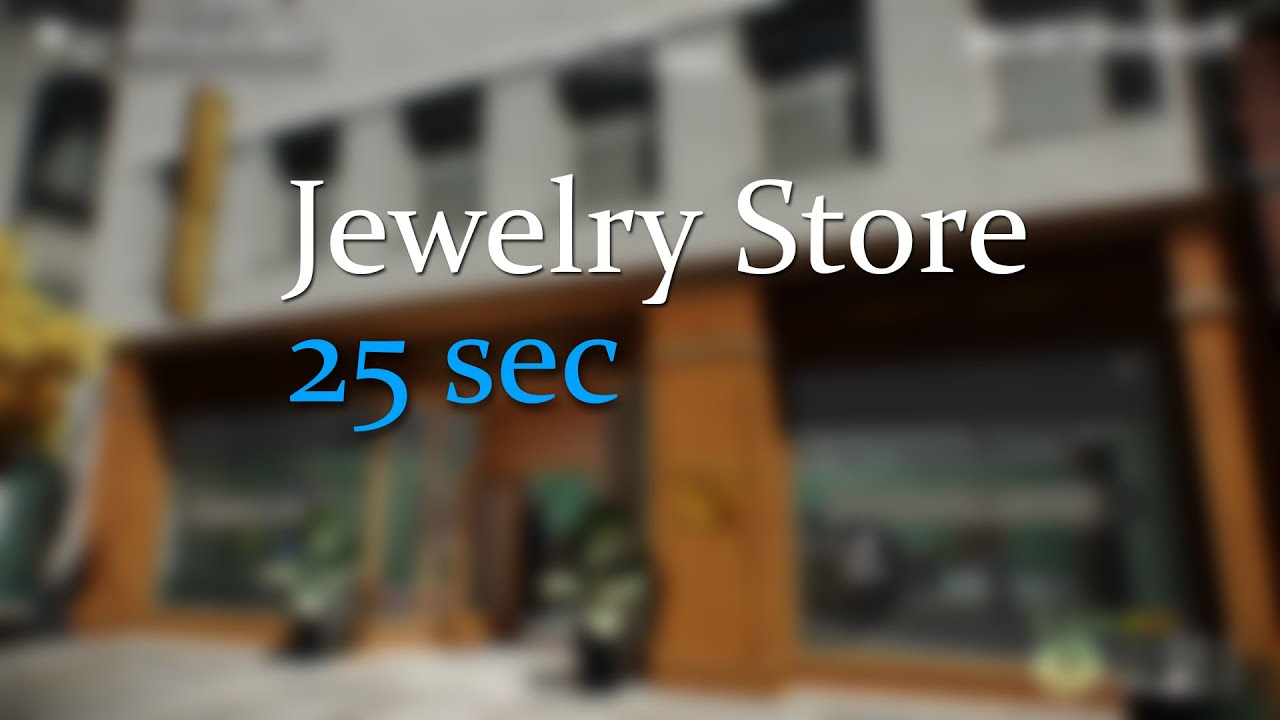 PAYDAY 2 Jewelry Store in 25sec - YouTube